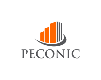 Peconic Development logo design