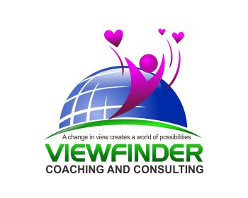 Viewfinder Coaching and Consulting logo design