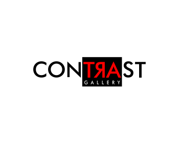 Logo design for Contrast Contemporary