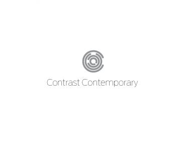 Contrast Contemporary logo design