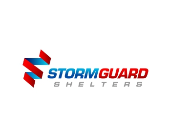 Storm Guard Shelters logo design