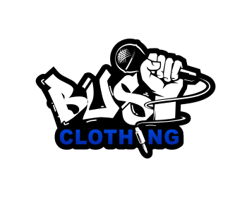 BUST Clothing logo design