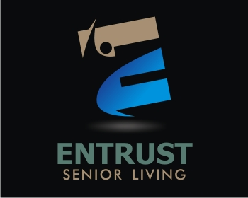 Entrust Senior Living logo design