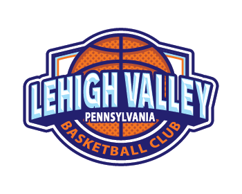 Lehigh Valley Basketball Club logo design