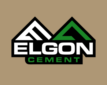 Elgon Cement logo design