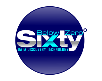 Sixty Below Zero logo design