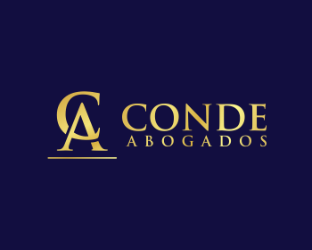 Logo design for CONDE ABOGADOS