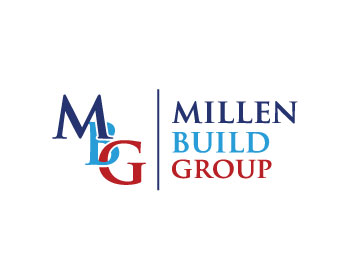 Millen Build Group logo design