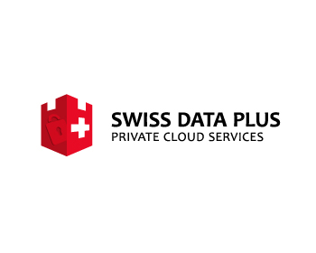 Swiss Data Plus logo design