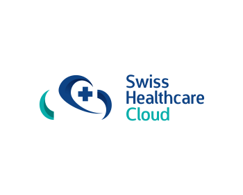 Swiss Healthcare Cloud logo design
