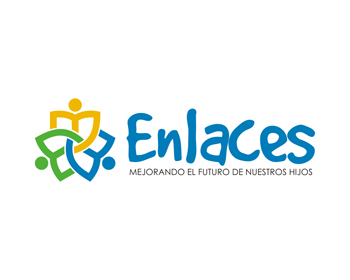 Enlaces logo design