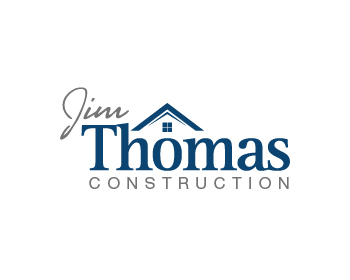 Jim Thomas Construction logo design