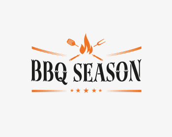 Home & Garden logo design for BBQ Season