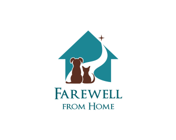 Farewell from Home logo design
