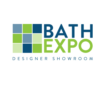 Bath Expo Showroom logo design