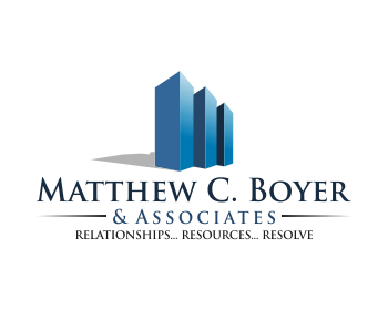 Matthew C. Boyer & Associates logo design