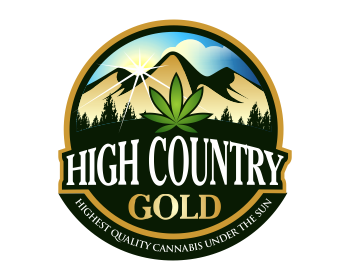 HIGH COUNTRY GOLD logo design