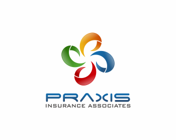 Praxis Insurance Associates, LLC logo design
