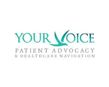Your Voice Patient Advocacy and Healthcare Navigation Inc. logo design