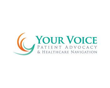 Logo design for Your Voice Patient Advocacy and Healthcare Navigation Inc.