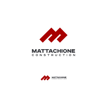 Mattachione Construction logo design