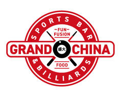 Grand China Sports Bar and Billiards logo design