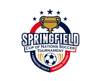 Springfield Cup of Nations Soccer Tournament logo design