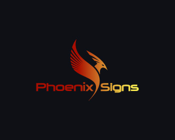 Phoenix Signs logo design