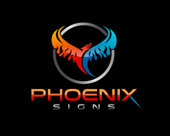 Logo design for Phoenix Signs