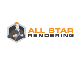 All Star Rendering logo design