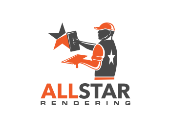 Logo design for All Star Rendering