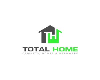 Total Home logo design