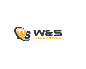 Logo design for W&S electronics