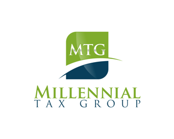 Millennial Tax Group logo design