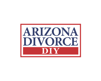 Arizona Divorce DIY logo design