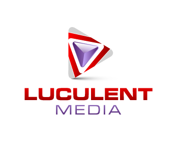 Media logo design for Luculent Media