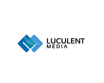 Luculent Media logo design