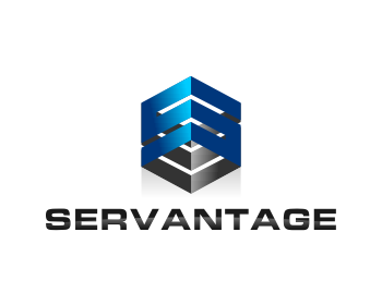 Servantage logo design