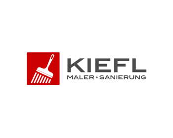 Logo design for Kiefl  Maler + Sanierung