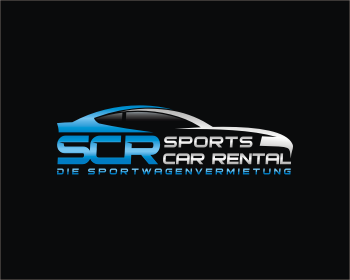 Logo design for SCR - Sports Car Rental
