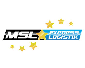 MSL Express Logistik logo design