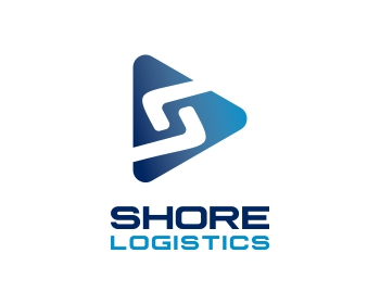 Shore Logistics logo design