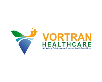 VORTRAN Healthcare logo design