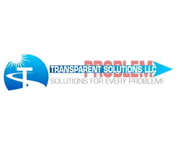 Transparent Solutions logo design