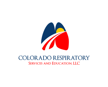 Colorado Respiratory Services and Education, LLC logo design