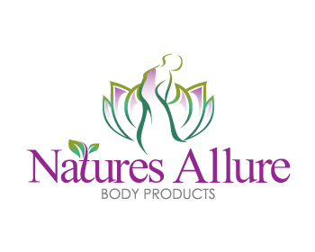 Natures Allure Body Products logo design