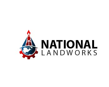 National Landworks logo design