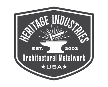 Heritage Industries Inc logo design