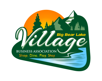 Big Bear Lake Village Business Association logo design