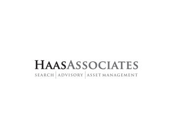 HaasAssociates Search|Advisory|Asset Management logo design
